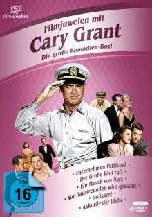 Cary Grant - Die große Komödien-Box, 6 DVDs
