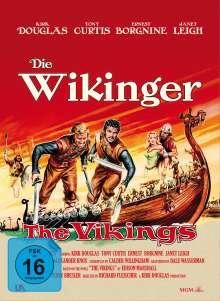 Die Wikinger (1958) (Blu-ray & DVD im Mediabook), 1 Blu-ray Disc und 1 DVD