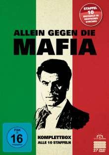 Allein gegen die Mafia (Komplettbox), 27 DVDs