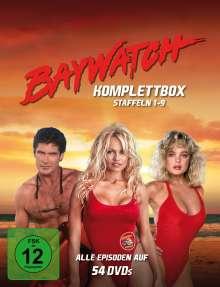 Baywatch (Komplettbox Staffel 1-9), 30 DVDs