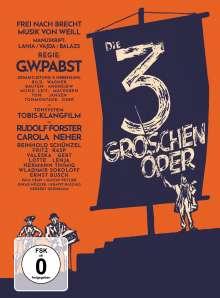 Die 3-Groschen-Oper (1931) (Blu-ray & DVD im Mediabook), 1 Blu-ray Disc und 1 DVD