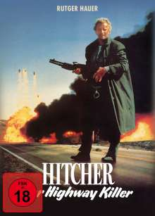 Hitcher, der Highway Killer (Blu-ray & DVD im Mediabook), 1 Blu-ray Disc und 1 DVD