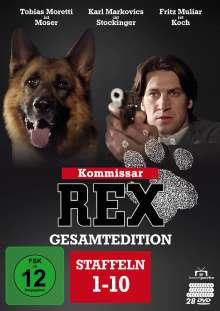 Kommissar Rex (Gesamtedition), 28 DVDs