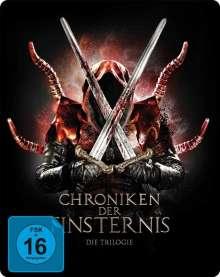 Chroniken der Finsternis - Die Trilogie (Blu-ray im Steelbook), 3 Blu-ray Discs