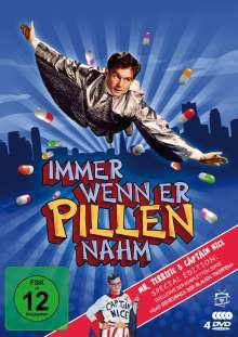Immer wenn er Pillen nahm (Special Edition inkl. Das Geheimnis der blauen Tropfen), 4 DVDs