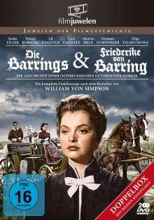 Die Barrings / Friederike von Barring, 2 DVDs