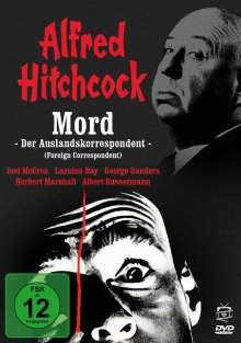 Mord - Der Auslandskorrespondent, DVD