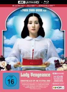Lady Vengeance (Ultra HD Blu-ray & Blu-ray im Mediabook), 1 Ultra HD Blu-ray und 2 Blu-ray Discs