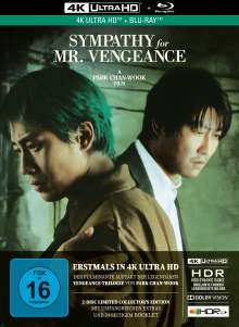 Sympathy for Mr. Vengeance (Ultra HD Blu-ray & Blu-ray im Mediabook), 1 Ultra HD Blu-ray und 1 Blu-ray Disc