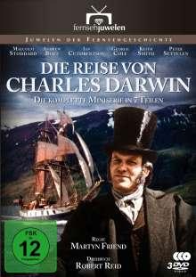 Die Reise von Charles Darwin (Komplette Serie), 3 DVDs