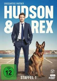 Hudson und Rex Staffel 1, 4 DVDs