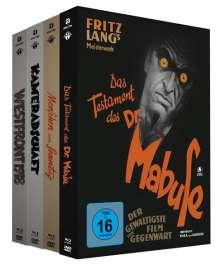 Westfront 1918 / Kameradschaft / Menschen am Sonntag / Das Testament des Dr. Mabuse (Blu-ray & DVD im Mediabook), 4 Blu-ray Discs und 4 DVDs