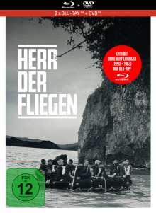 Herr der Fliegen (1990) (Blu-ray & DVD im Mediabook), 2 Blu-ray Discs und 1 DVD