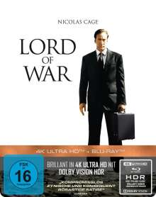 Lord of War - Händler des Todes (Ultra HD Blu-ray & Blu-ray im Steelbook), 1 Ultra HD Blu-ray und 1 Blu-ray Disc
