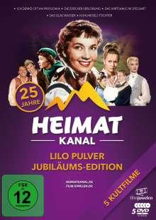 Lilo Pulver Jubiläums-Edition (25 Jahre Heimatkanal), 5 DVDs