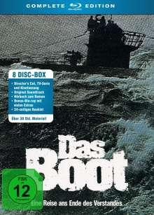 Das Boot (Complete Edition) (Blu-ray), 5 Blu-ray Discs und 3 CDs