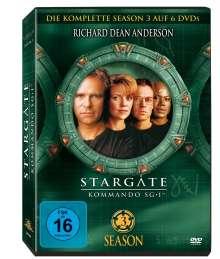 Stargate Kommando SG1 Season 3, 6 DVDs