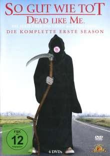 Dead Like Me Season 1, 4 DVDs