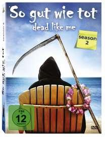 Dead Like Me Season 2, 4 DVDs