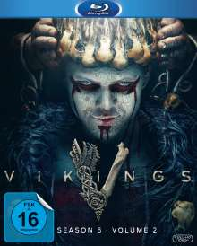 Vikings Staffel 5 Box 2 (Blu-ray), 3 Blu-ray Discs