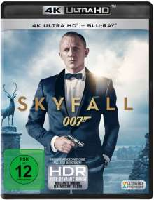 James Bond: Skyfall (Ultra HD Blu-ray & Blu-ray), 1 Ultra HD Blu-ray und 1 Blu-ray Disc