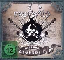 Frei.Wild: Gegengift (10 Jahre) (2CD + DVD), 2 CDs und 1 DVD