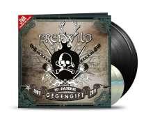 Frei.Wild: Gegengift (JVA - Jubiläums Vinyl Auflage) (Limited Edition), 2 LPs und 2 CDs