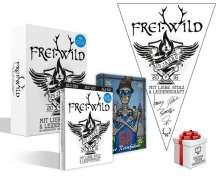 Frei.Wild: 15 Jahre mit Liebe, Stolz und Leidenschaft (Box-Set), 4 Blu-ray Discs, 1 Merchandise und 1 Buch