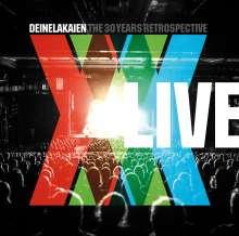 Deine Lakaien: The 30 Years Retrospective: Live, 2 CDs und 1 DVD