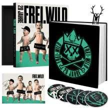 Frei.Wild: Wir schaffen Deutsch.Land (Box-Set), 3 CDs, 2 Blu-ray Discs und 1 Buch