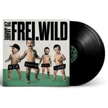 Frei.Wild: Wir schaffen Deutsch.Land, 2 LPs