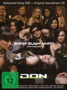 Shah Rukh Khan: Don-Das Spiel beginnt (Songs+CD), 2 DVDs