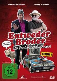 Entweder Broder - Die Deutschland-Safari Staffel 1, DVD