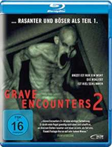 Grave Encounters 2 (Blu-ray), Blu-ray Disc