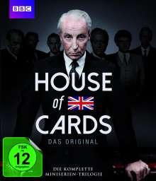 House of Cards (1990) (Komplette Mini-Serien Trilogie) (Blu-ray), 3 Blu-ray Discs
