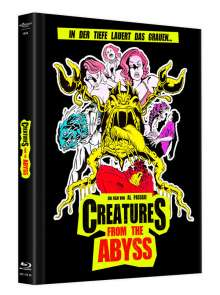 Creatures from the Abyss (Blu-ray & DVD Mediabook), 1 Blu-ray Disc und 1 DVD
