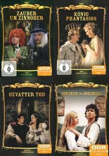 Märchen-Klassiker 4er Package: Gevatter Tod / Jorinde und Joringel / König Phantasios / Zauber um Zinnober (DDR-TV-Archiv)  [4 DVDs], 4 DVDs