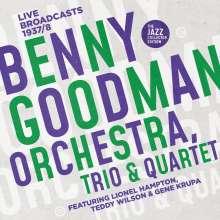 Benny Goodman (1909-1986): Benny Goodman Orchestra, Trio & Quartet: Live Broadcasts 1937 - 1938 (The Jazz Collector Edition), 2 CDs