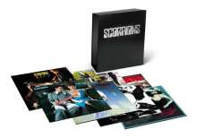 Scorpions: Vinyl Box (50th Anniversary Deluxe Editions) (remastered) (180g) (Limited Numbered Edition), 10 LPs und 10 CDs