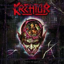 Kreator: Coma Of Souls (remastered) (Translucent Red Vinyl), 3 LPs