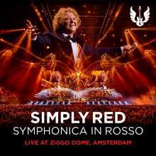 Simply Red: Symphonica In Rosso (Live At Ziggo Dome Amsterdam), 1 CD und 1 DVD