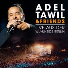 Adel Tawil: Adel Tawil & Friends: Live aus der Wuhlheide Berlin, 1 Blu-ray Disc und 2 CDs