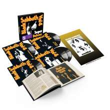 Black Sabbath: Vol.4 (Super Deluxe 5LP Box Set), 5 LPs und 1 Buch