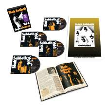 Black Sabbath: Vol. 4 (Super Deluxe Box Set), 4 CDs und 1 Buch