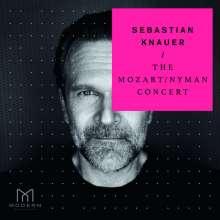 Sebastian Knauer - The Mozart/Nyman Concert, CD