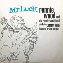 Ron (Ronnie) Wood: Mr. Luck - A Tribute To Jimmy Reed: Live At The Royal Albert Hall (Limited Indie Exclusive Edition) (Blue Smoke Effect Vinyl), 2 LPs