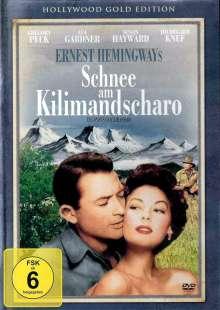 Schnee am Kilimandscharo, DVD