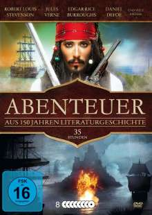 Abenteuer-Box (23 Filme auf 8 DVDs), 8 DVDs