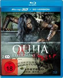 Das Ouija Experiment Teil 1-4 (3D Blu-ray), 2 Blu-ray Discs