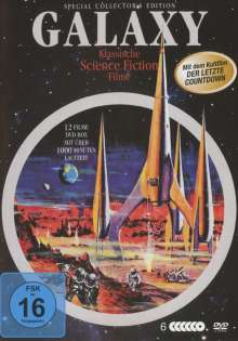 Galaxy Science-Fiction Classic Deluxe-Box (12 Filme auf 6 DVDs), 6 DVDs